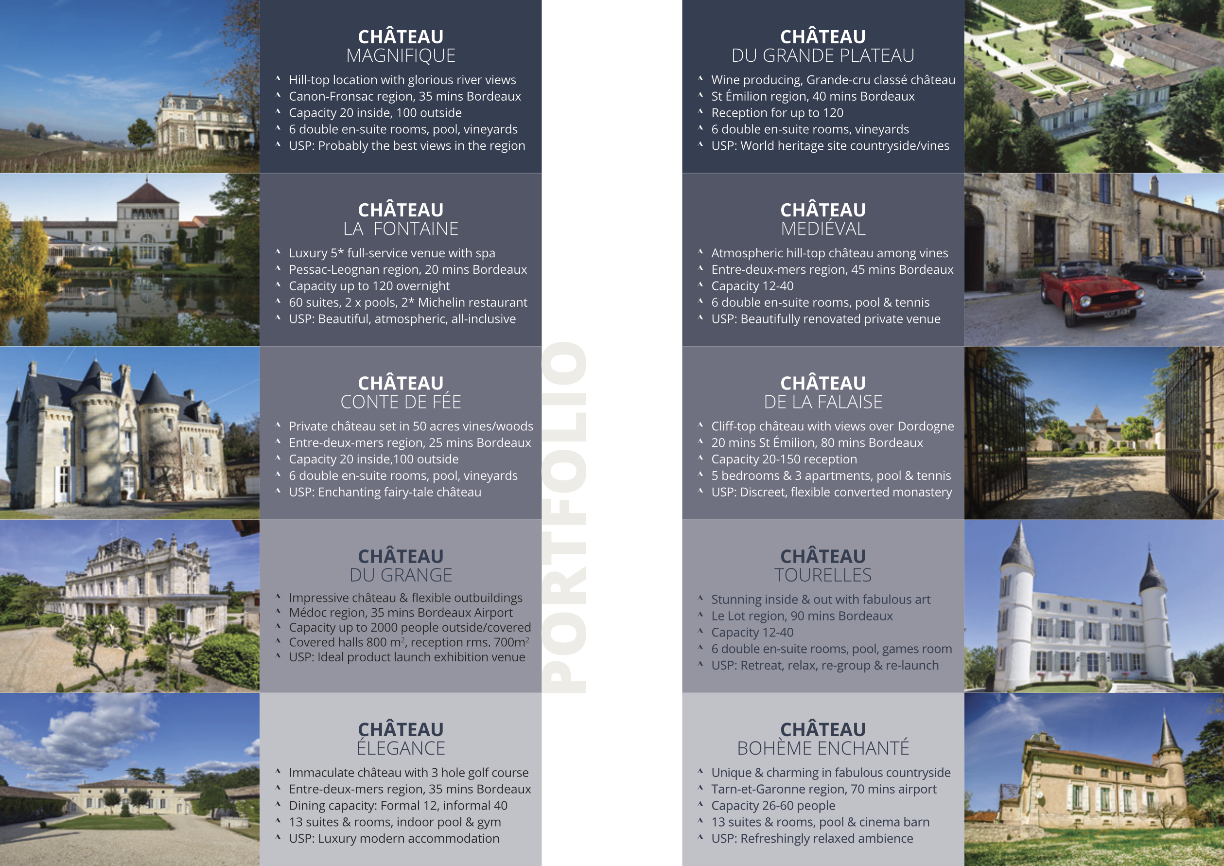 Upmarket brochure design